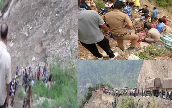 उत्तराखंड: टिहरी गढ़वाल में खाई में गिरी स्कूल बस, सात बच्चों की मौत