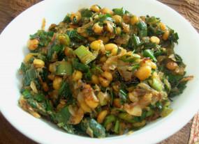 वीडियो रेसिपी: इस तरह से बनाएं हरी प्याज (स्प्रिंग अनियन) की सब्जी