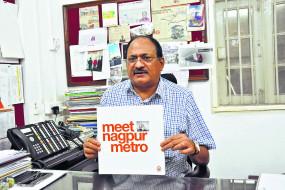 नागपुर की माझी मेट्रो भी हांगकांग की तरह मुनाफे में रहेगी - बृजेश दीक्षित