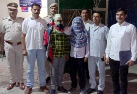 दिल्ली मेट्रो में छिनैती करने वाले 2 गिरफ्तार