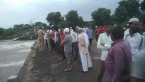 अमरावती में गणेश विसर्जन के दौरान पूर्णा नदी में 5 लोग डूबे, 2 के शव बरामद
