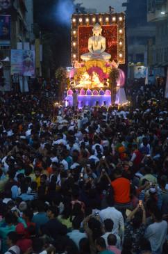 पुणे में शांतिपूर्ण माहौल में गणेश विसर्जन, तीन से चार घंटे पहले खत्म हुई शोभायात्रा