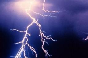 कोलयार्ड में आकाशीय बिजली गिरने से सुरक्षा गार्ड की मौत, एक गंभीर
