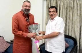 महाराष्ट्र में राजनीतिक हलचल: केंद्रीय मंत्री नितिन गडकरी से मिले संजय दंत