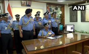 वायुसेना प्रमुख का पद संभालते ही बोले RKS भदौरिया-चीन-पाक पर हम पड़ेंगे भारी