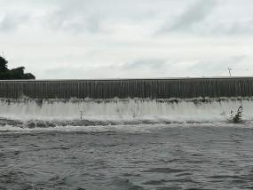 अंबाझरी ओवर फ्लो , तेज बारिश का असर