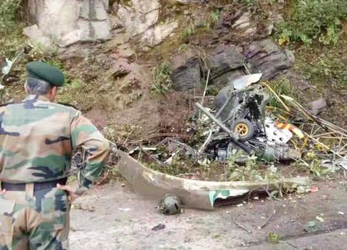 भूटान में सेना का हेलीकॉप्टर दुर्घटनाग्रस्त, 2 पायलटों की मौत (लीड-1)