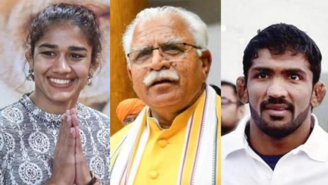 हरियाणा: बीजेपी ने जारी की 78 उम्मीदवारों की पहली लिस्ट, योगेश्वर- बबीता को टिकट