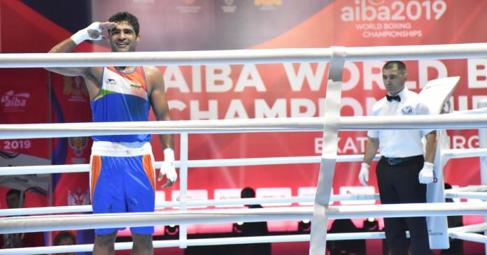 मुक्केबाजी विश्व चैम्पियनशिप : भारत के बृजेश ने की जीत के साथ शुरूआत