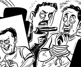 पिस्तौल की नोक पर व्यापारी का अपहरण कर दस लाख की फिरौती, आरोपी फरार