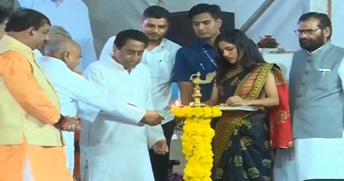 CM कमलनाथ ने किया भोपाल मेट्रो का शिलान्यास, 'भोज' मेट्रो होगा नाम