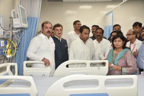 जबलपुर में सीएम कमलनाथ ने किया सुपर स्पेश्यलिटी अस्पताल का लोकार्पण