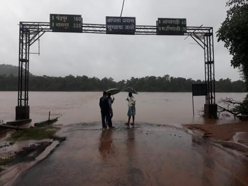 गड़चिरोली में बारिश से बिगड़े हालात, विदर्भ के कई क्षेत्रों में बारिश का कहर