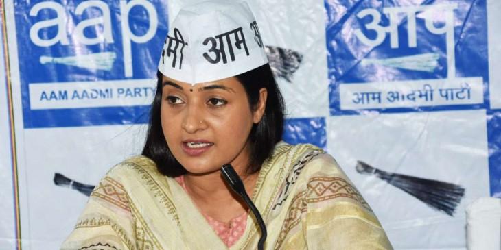 आप MLA अलका लांबा ने पार्टी से दिया इस्तीफा, कांग्रेस में हो सकती हैं शामिल