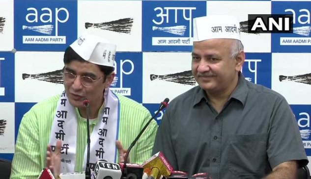 दिल्ली: AAP में शामिल हुए झारखंड कांग्रेस के पूर्व अध्यक्ष अजय कुमार