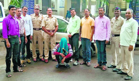 हैदराबाद से नागपुर चोरी करने आए गिरोह का सदस्य गिरफ्तार