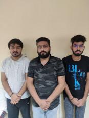 फर्जी कॉल-सेंटर का भंडाफोड़, एनआरआई अभिनेत्री ईशा को ठगने वाले 3 गिरफ्तार