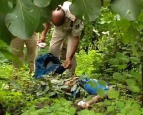स्कूल से लौट रही छात्रा की गला घोंटकर हत्या, कुंडम के जंगल में मिली लाश