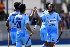 हॉकी : भारत ने स्पेन के 6-1 से हराया