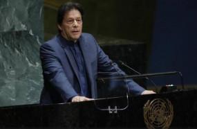 UNGA में इमरान ने दी परमाणु युद्ध की गीदड़ भभकी, कश्मीर का रोना रोया