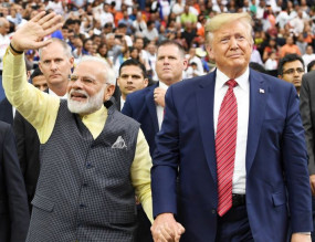 ट्रंप ने फिर की कश्मीर पर मध्यस्थता की पेशकश, भारत अपने रुख पर बरकरार