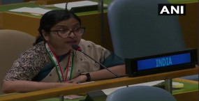 UN में भारत ने पाक को दिया करारा जवाब, कहा- इमरान का भाषण नफरत से भरा