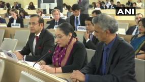 UNHRC में भारत का जवाब, कहा- झूठ की रनिंग कमेंट्री कर रहा पाकिस्तान