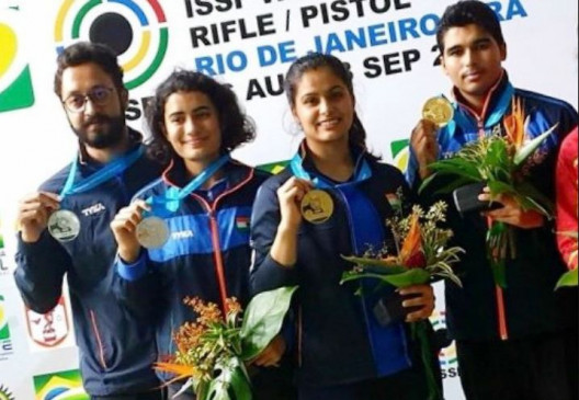 ISSF Shooting World Cup: मनु-सौरभ ने मिक्स्ड टीम इवेंट में जीता गोल्ड, भारत 9 मेडल के साथ टॉप पर रहा