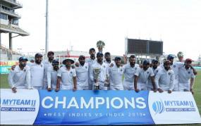 भारत ने 2-0 से जीती टेस्ट सीरीज, 2002 से अब तक नहीं जीता वेस्टइंडीज