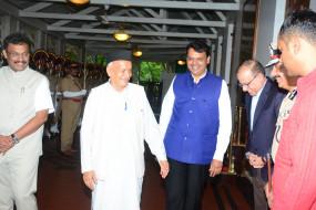 राज्यपाल पद की शपथ लेंगे कोश्यारी, सी विद्यासागर हुए हैदराबाद रवाना