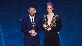 मेसी ने छठी बार बेस्ट मेन्स प्लेयर ऑफ द इयर का अवॉर्ड जीता