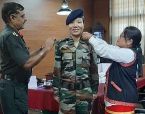 अरुणाचल प्रदेश की पहली महिला लेफ्टिनेंट कर्नल बनीं पोनूंग डोमिंग, CM बोले- गौरव का पल
