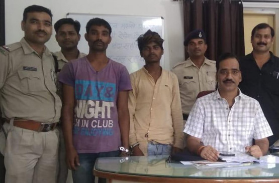 माशूका को कपड़े गिफ्ट करने बुटिक में की चोरी -पुलिस ने किया गिरफ्तार