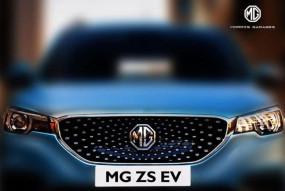 MG Motor भारत में लाएगी इलेक्ट्रिक एसयूवी ZS, टीजर जारी