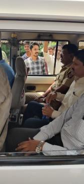 महिला पुलिस से अभद्र व्यवहार करना पड़ा भारी, हिरासत में लिए गए विधायक वाघमारे
