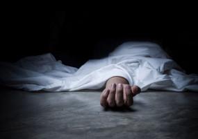प्रसव के दौरान जच्चा-बच्चा की मौत, चंदा कर की अंत्येष्टि
