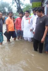 मप्र : भारी बारिश से जन-जीवन प्रभावित, निचली बस्तियां जलमग्न