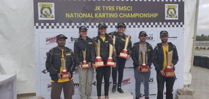 मुस्कान जुब्बल ने जीता गर्ल्स ऑन ट्रैक में जीता कार्टिग स्लालोम खिताब