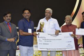 नाशिक के किसान बापू सालूंखे को राष्ट्रीय जल अभियान पुरस्कार