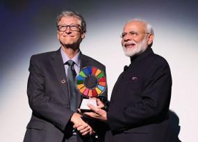पीएम मोदी को मिला ग्लोबल गोलकीपर अवॉर्ड, कहा- 130 करोड़ भारतीयों को समर्पित