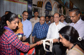 रेलवे में नो-प्लास्टिक का संकल्प -2 अक्टूबर तक चलेगा स्वच्छता ही सेवा अभियान