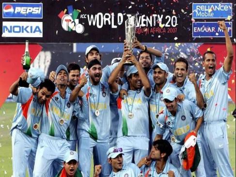 12साल पहले भारतीय टीम ने रचा था इतिहास, पाक को हरा बनी थी पहली टी-20 वर्ल्ड चैंपियन