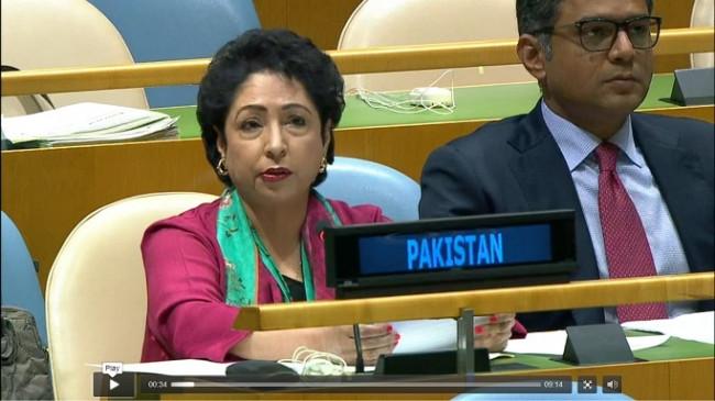 पाकिस्तान की संयुक्त राष्ट्र महासचिव से कश्मीर मामले में दखल देने की मांग