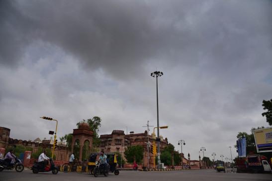 मप्र में आंशिक बादल छाए, भारी बारिश की चेतावनी
