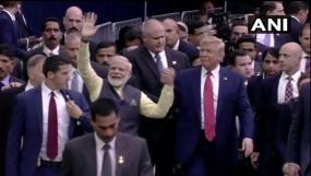 ह्यूस्टन में पीएम का मेगा शो, पाक को घेरा, ट्रंप को दिया भारत आने का न्योता