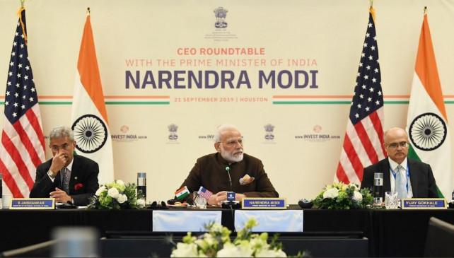 US में PM मोदी: एनर्जी सेक्टर के CEO के साथ की बैठक, साइन हुआ MOU
