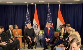 राष्ट्रपति ट्रंप मेरे और भारत के करीबी मित्र : मोदी