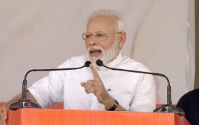 हरियाणा में बोले PM मोदी- '55% से ज्यादा समर्थन मांगने आया हूं'