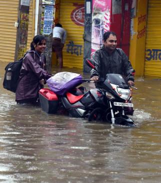 बिहार में बारिश का अलर्ट, पिछले 24 घंटे में पटना में 91.60 मिलीमीटर बारिश