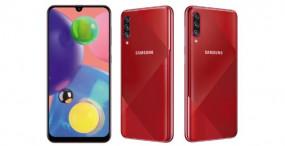 Samsung Galaxy A70s भारत में लॉन्च, जानें कीमत और फीचर्स